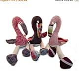 Wool Flamingos
