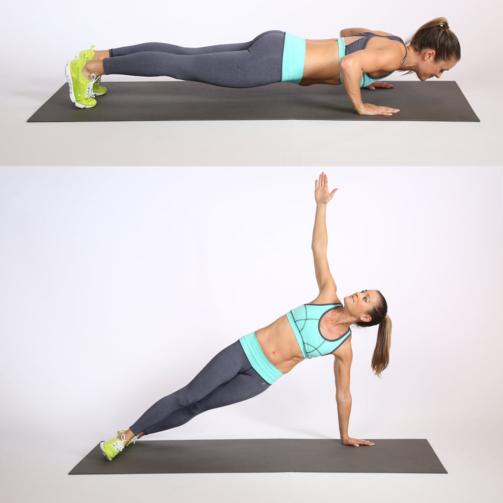 Push-Up-Rotation
