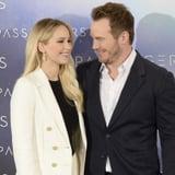 Chris Pratt Talking About Jennifer Lawrence on GMA 2016