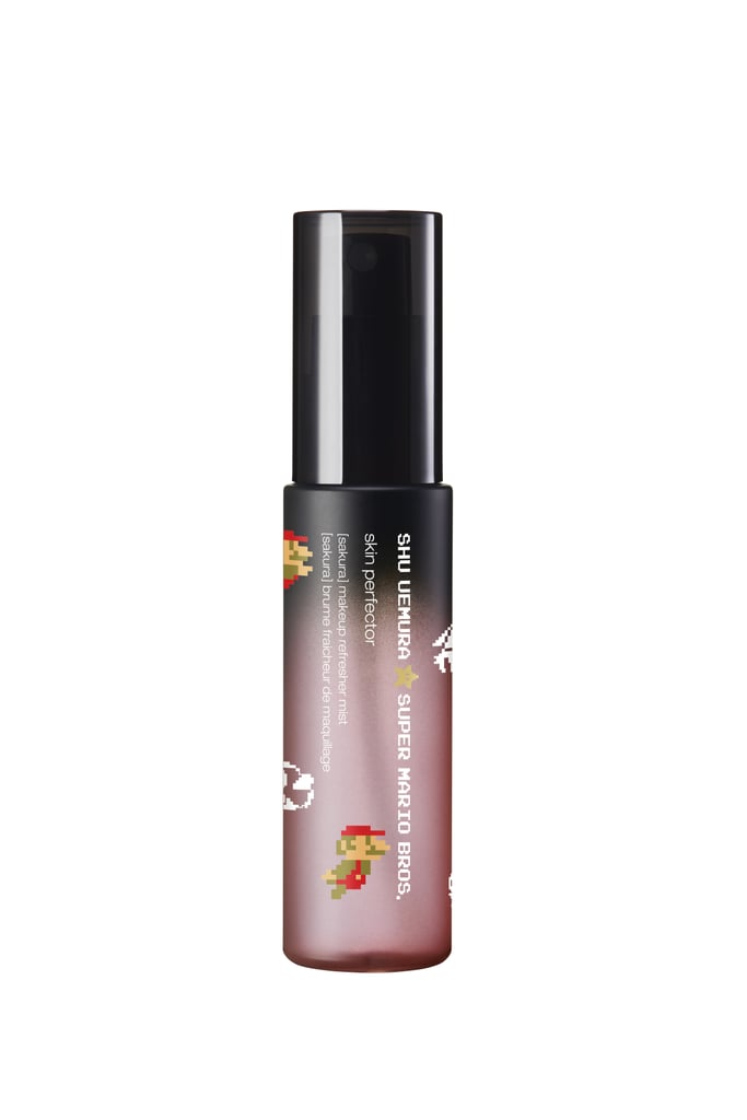 Shu Uemura x Super Mario Bros Skin Perfector Makeup Refresher Mist in Sakura, $39