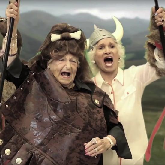 Senior Citizens Acting in Movies Video