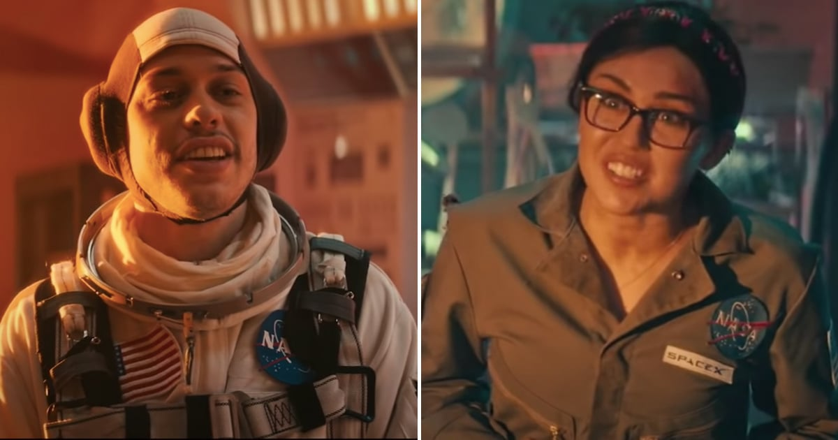 Pete Davidson Is an Unlikely Hero in SNL's Hilarious Mars Skit With Miley Cyrus.jpg