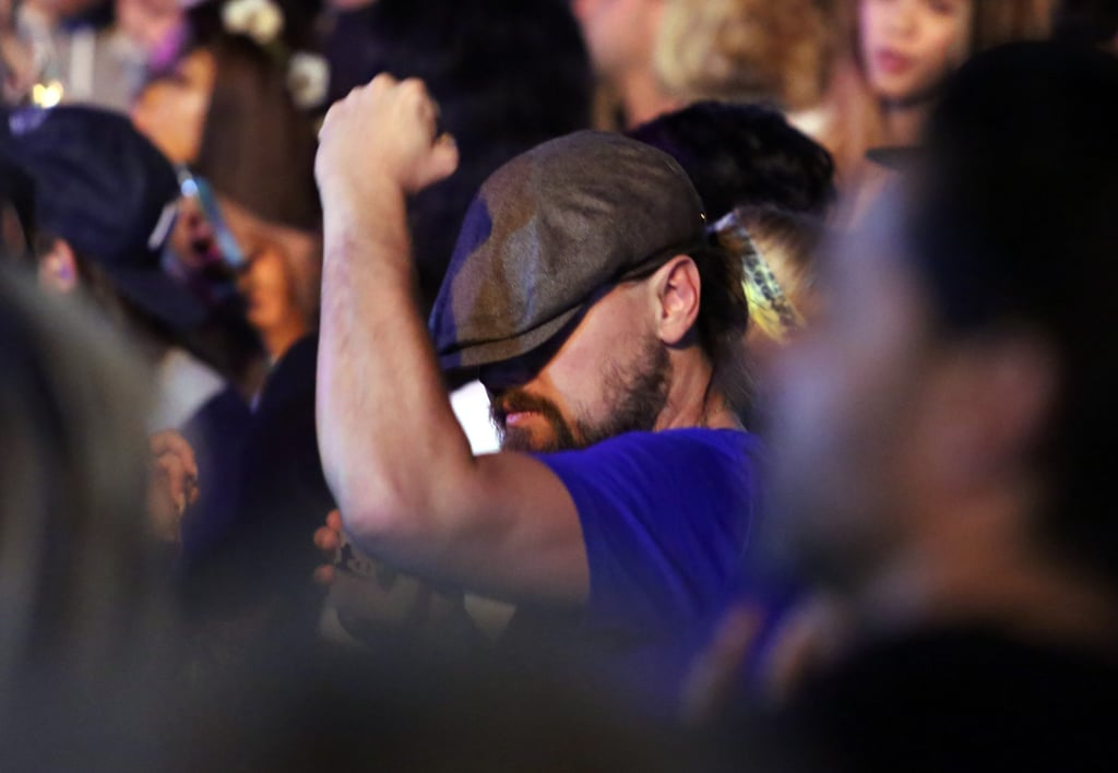 Leonardo DiCaprio Dancing at Coachella 2015