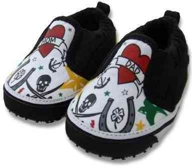 Cool Tattoo Baby Shoes ($26)