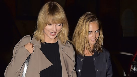 Taylor Swift Dines With Lorde, Cara Delevingne, More in NYC Amid New Kanye West Diss: Pics