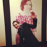 Zac Posen had a blast at the Girls season two premiere. Source: Instagram user zac_posen