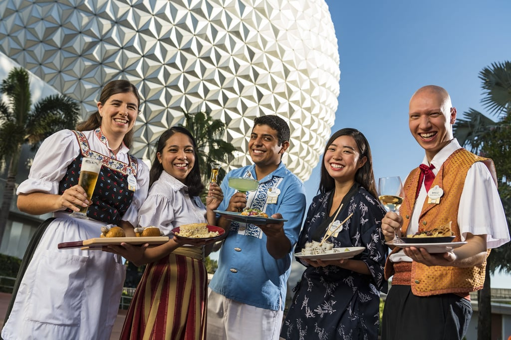 Information on Disney's Food and Wine Festival 2020