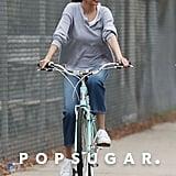 Selena Gomez Riding Her Bike in LA October 2017