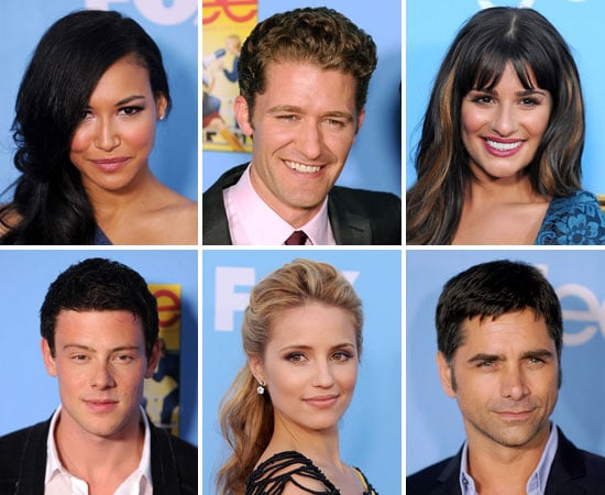 Lea Michele, Dianna Agron, Cory Monteith and More at the Glee Season Two Premiere