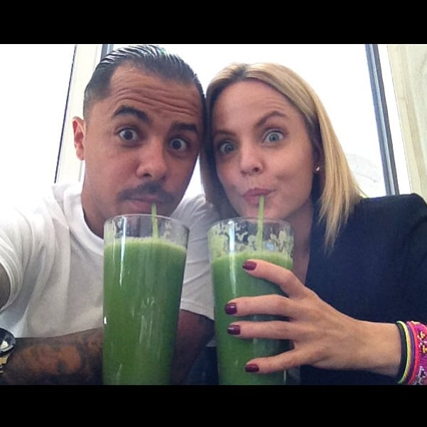 We wholly approve of Mena Suvari's happy hour!