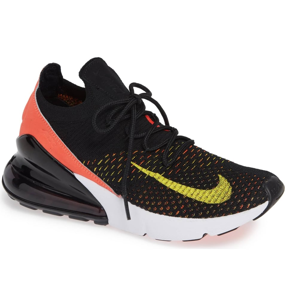 buy popular c3192 0a24a Nike Air Max 270 Flyknit Sneaker | Gigi Hadid Yellow and ...