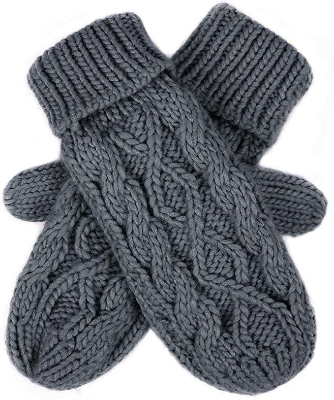 HDE Crochet Mittens