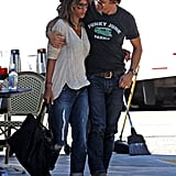 Halle Berry and Olivier Martinez at Breakfast in LA