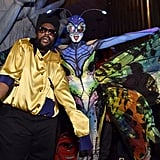 Heidi Klum as a Butterfly With Questlove as Gordon Gartell