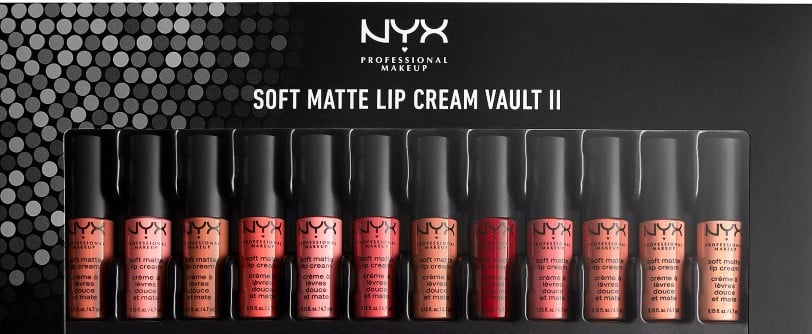NYX Just Dropped a New 36-Shade Lipstick Vault — and More Holiday Goodies