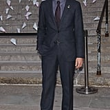 Zac Posen went for a classic suit.