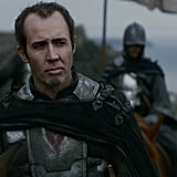 Nicolas Cage as Stannis Baratheon is too spot-on.
