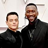 Rami Malek and Mahershala Ali at the 2020 Oscars