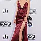 What's an award show dress without a daring slit?