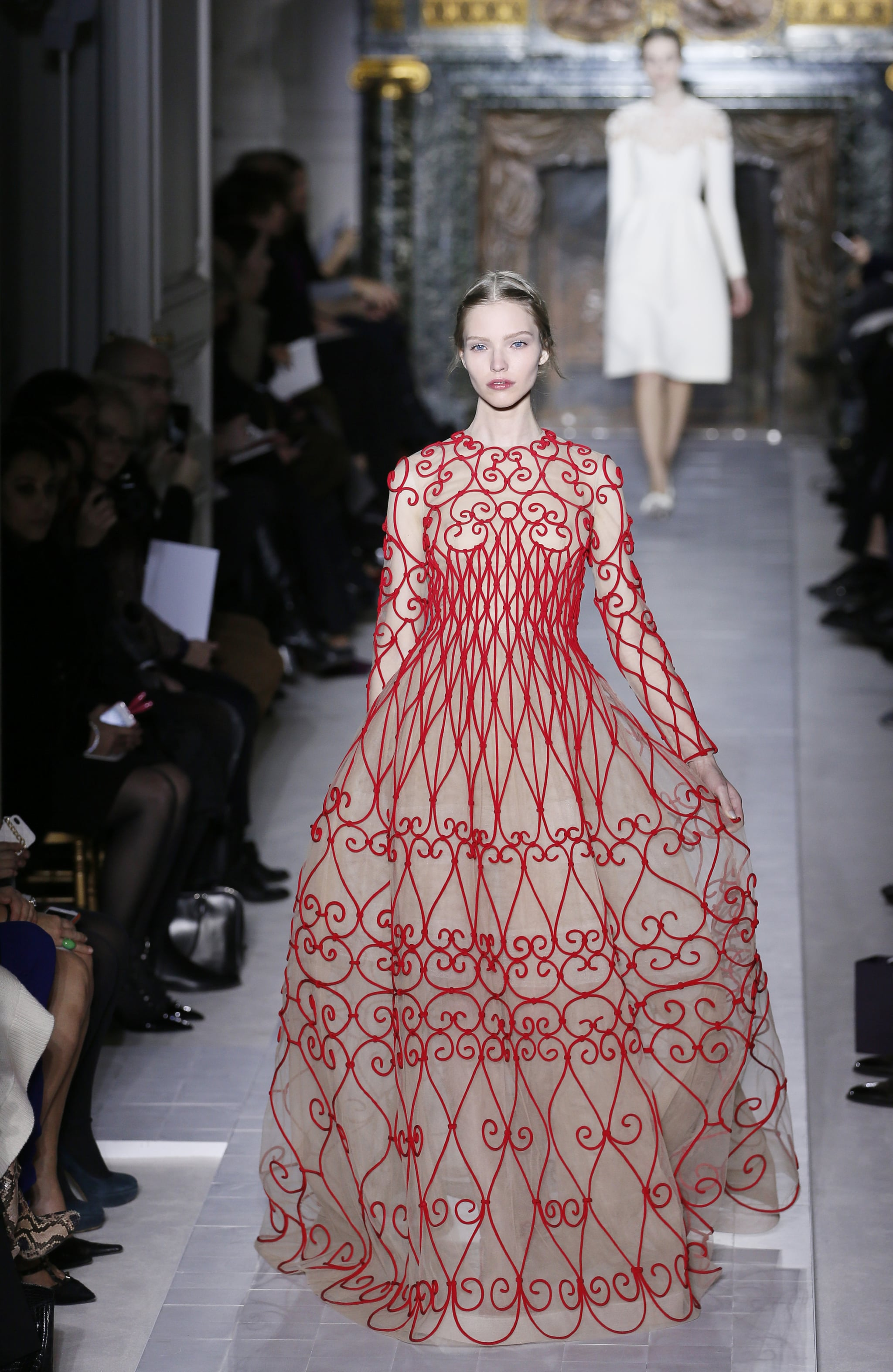 Embroidery at Valentino