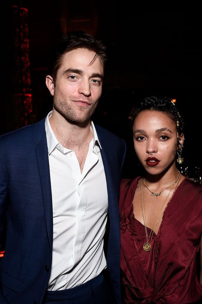 Robert Pattinson and FKA Twigs at LA Dance Project Gala 2016