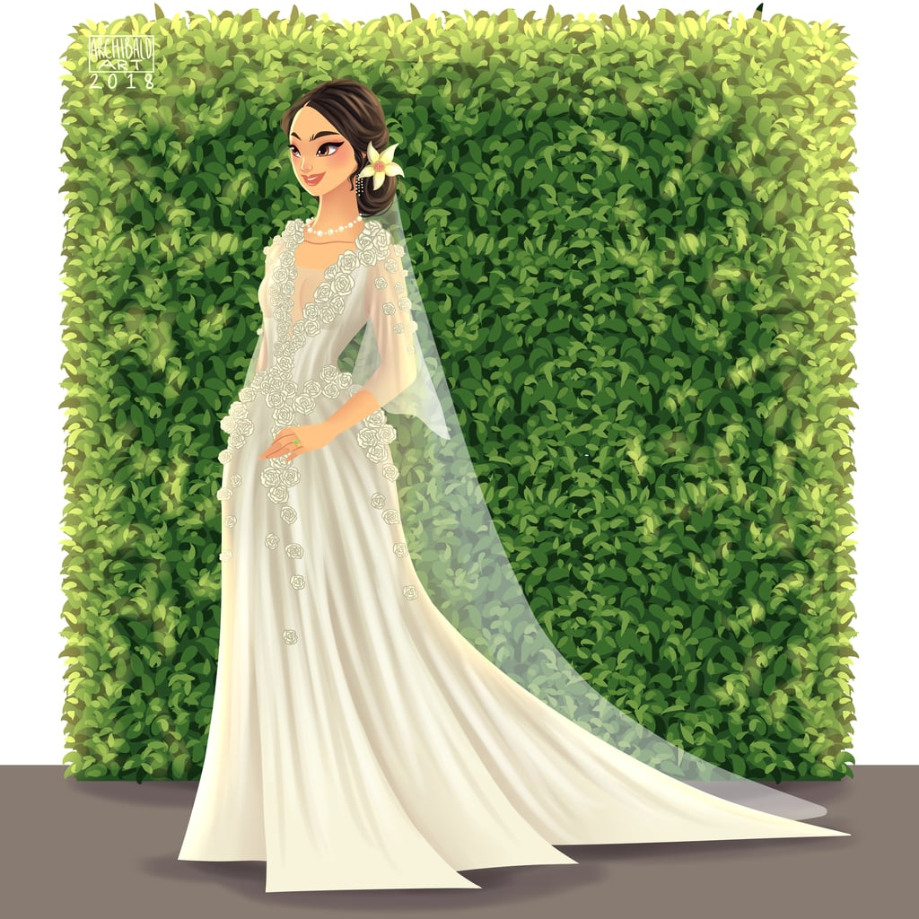 Everything Is Dreamier After You See Mulan in This Wedding Dress