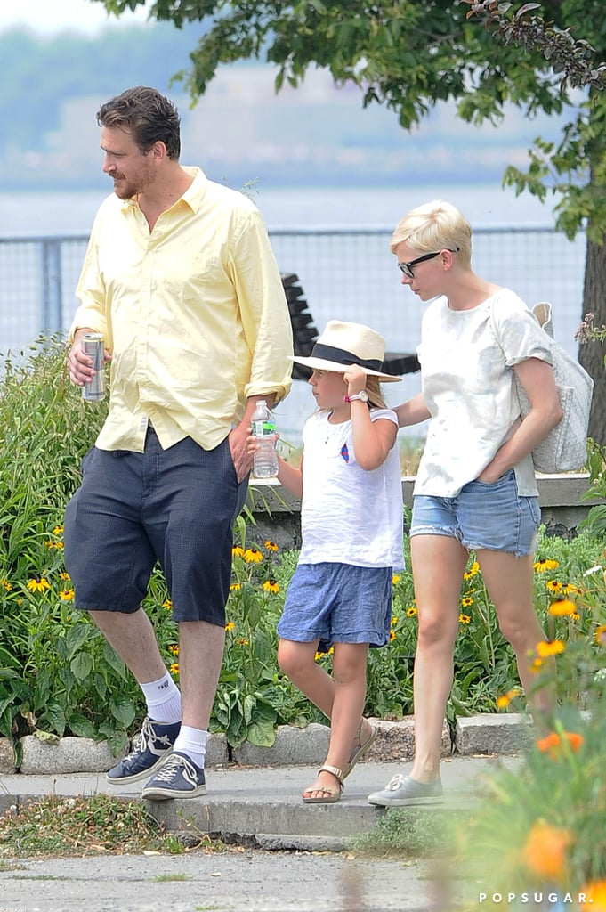 I certainly didn't expect that Jason Segel and Michelle Williams would make such an attractive couple —or that he'd be so adorable with her daughter, Matilda. I loved this photo because it shows Jason, Michelle, and Matilda enjoying a quintessential Brooklyn day as a family.  — Allie Merriam, editor