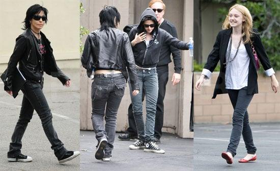 Dakota and Kristen With Joan Jett
