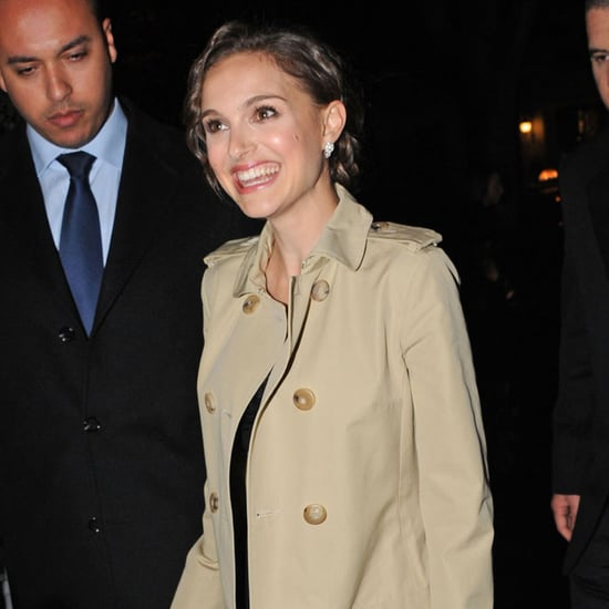 Natalie Portman Pictures in Paris