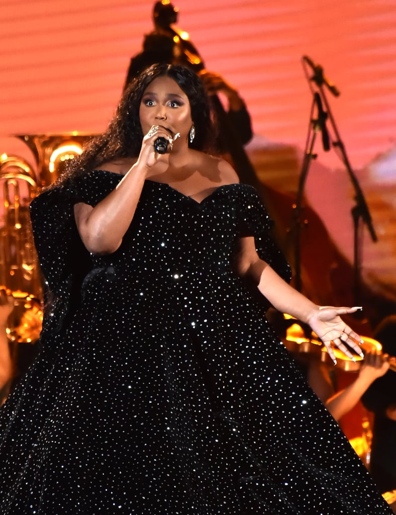 Pictures of Lizzo's Performance at the 2020 Grammys