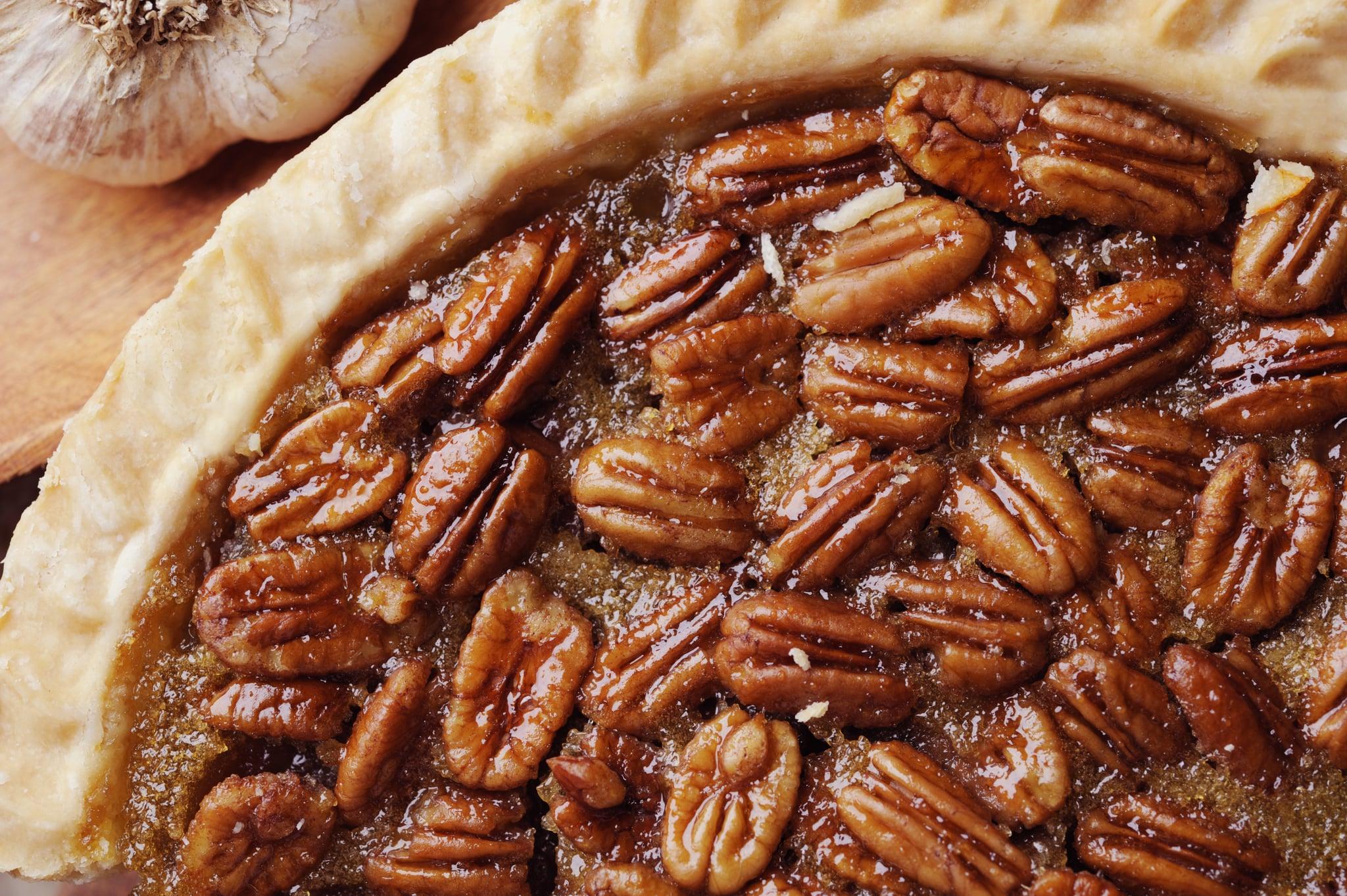 Close up of Pecan Pie