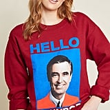 ModCloth Hello Neighbor Graphic Sweatshirt