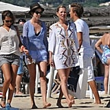 Kate Moss had a girl's day in the South of France.