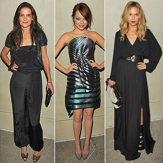 Pictures of Rachel Zoe, Katie Holmes, Jessica Alba at a Vanity Fair and Giorgio Armani Dinner in LA