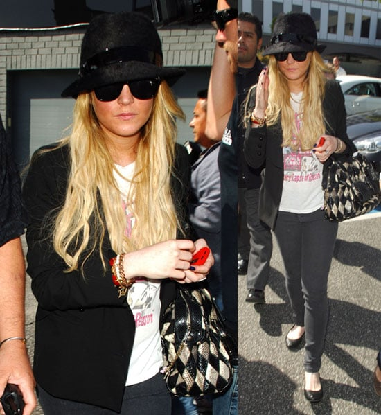 Lindsay Lohan Out Shopping in LA 2008-04-09 14:30:38