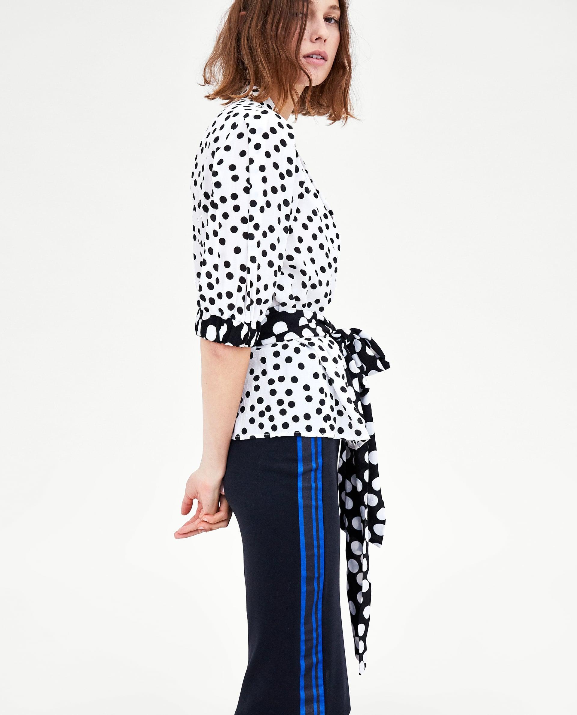 huge sale fashionablestyle look good shoes sale Zara Midi Skirt With Side Stripe Detail | Melania Trump ...