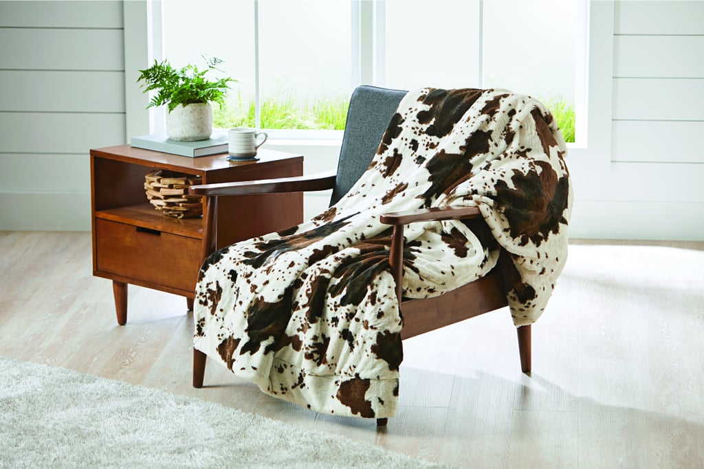 Better Homes And Gardens Cowhide Faux Fur Throw Blanket Cozy Unique Better Homes And Gardens Throw Blanket