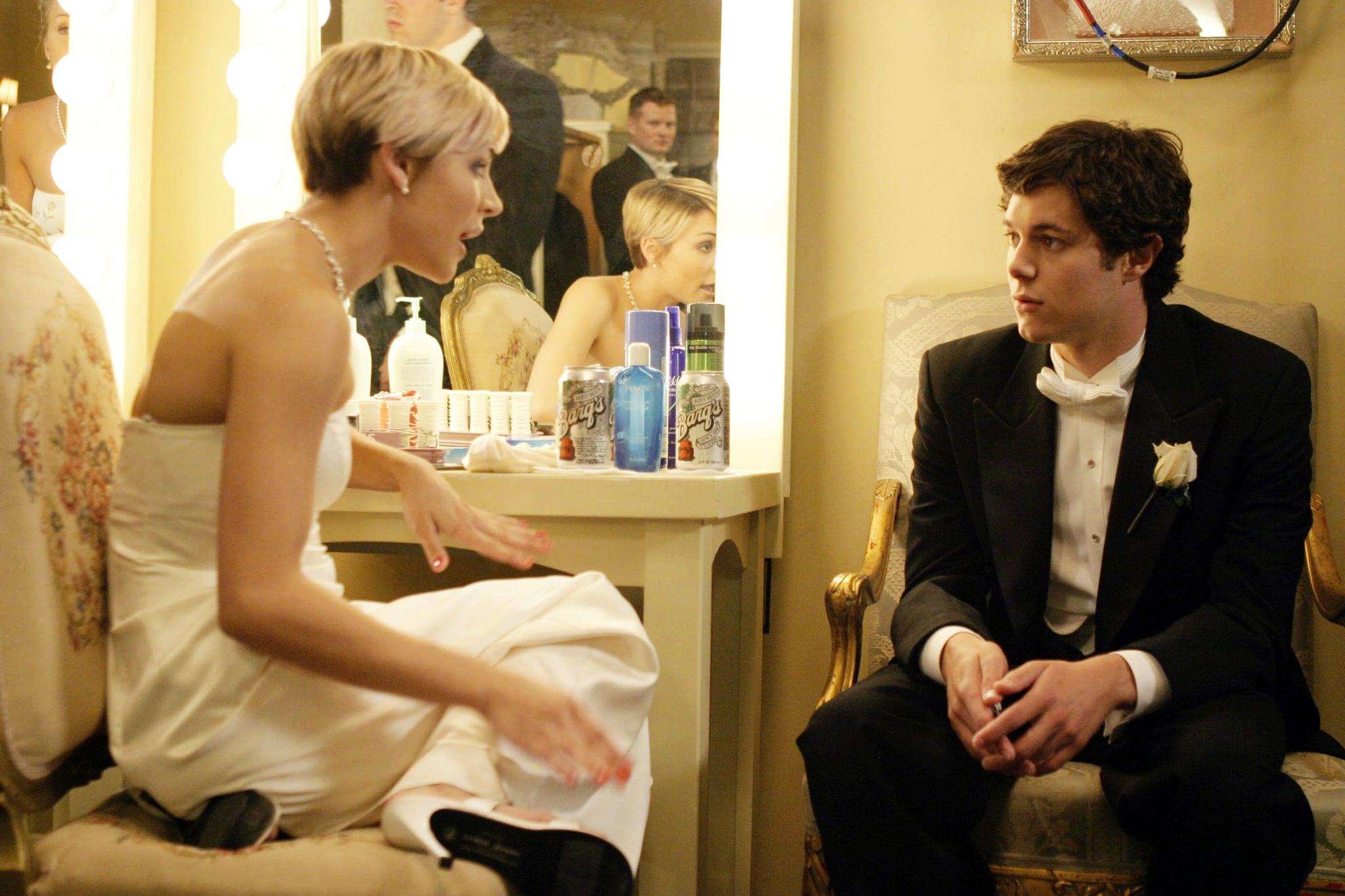 THE O.C., Samaire Armstrong, Adam Brody, 'The Debut', (Season 1), 2003-2007.  WB / Courtesy: Everett Collection