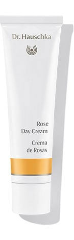 Model Yulia Musieichuk knows a good product when she sees it, which is why she swears by Dr. Hauschka's Rose Day Cream to keep her skin moisturized after countless makeup applications.