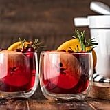 Hot Cranberry Apple Spiced Cider