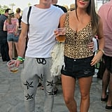 They were the ultimate rocker couple in their bold prints and standout shades.