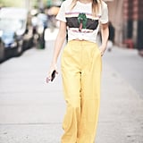 Brighten Up Your Mood With a Pair of Yellow Pants