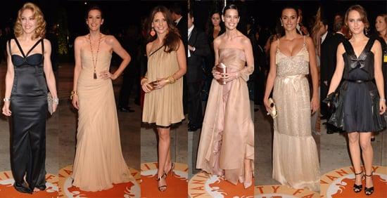 The Ladies Flock to Vanity Fair