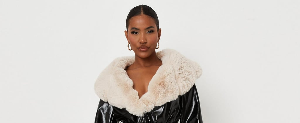 The Faux Fur Trimmed Top Is a Major 2021 Trend