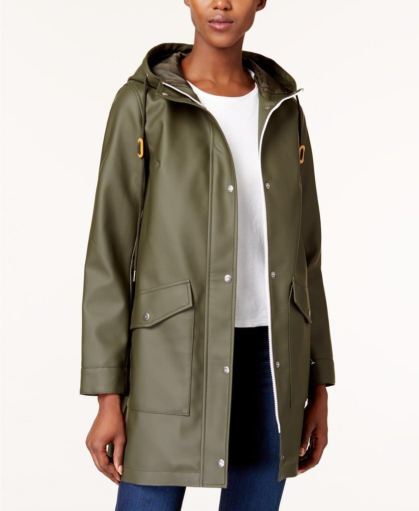 Levi's Hooded Front Zip Raincoat