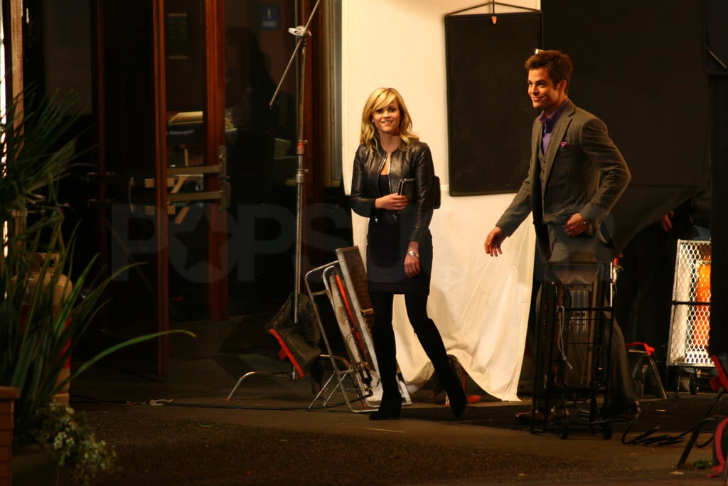 Pictures of Chris Pine and Reese Witherspoon