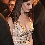 Ashley Greene at the premiere of Breaking Dawn: Part I in Brussels.