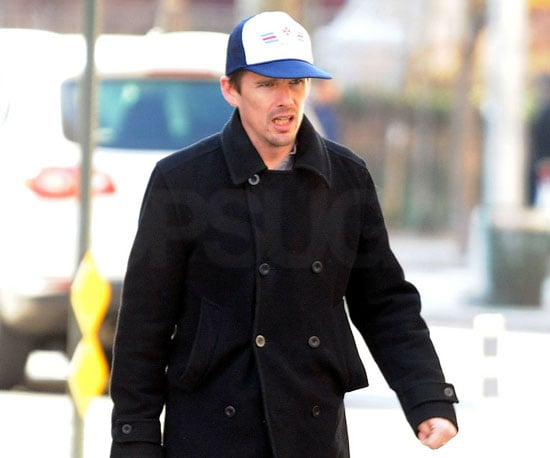 Slide Photo of Ethan Hawke in NYC
