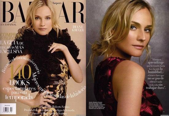 Diane Kruger in Spanish Harper's Bazaar