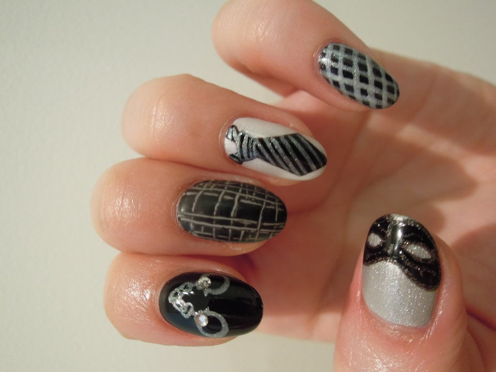 If S&M Doesn't Excite You, This Fifty Shades of Grey-Inspired Nail Art Will